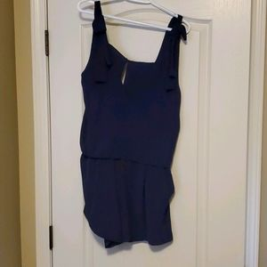 H&M navy rompers